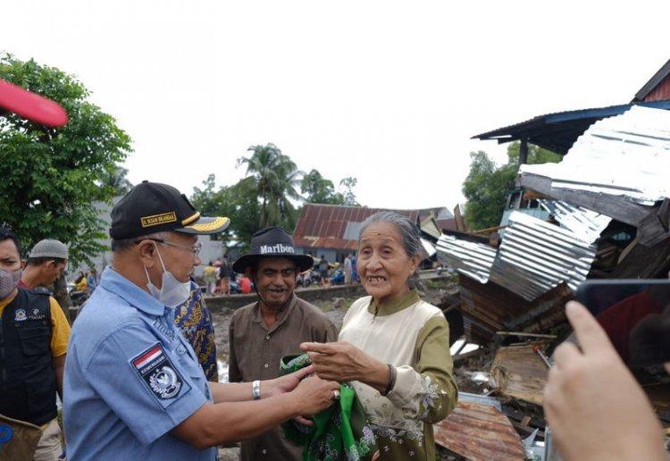 Bupati Jeneponto Pastikan Korban Banjir Ditangani Pemerintah